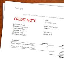 Sample Credit Note Invoice A Free Credit Note Memo Template For Freelancers Going