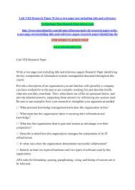 Unit Viii Research Paper Tutorialoutletdotcom By