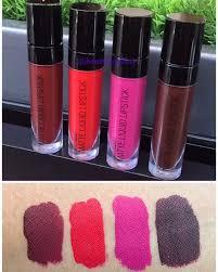 wet n wild matte liquid lipsticks