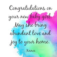Congratulations For Baby Boy Newborn Wishes And Quotes New Home