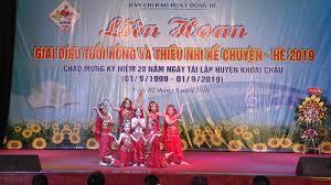 Khoái Châu tổ chức liên hoan giai điệu tuổi hồng và thiếu nhi kể chuyện hè  2019 -