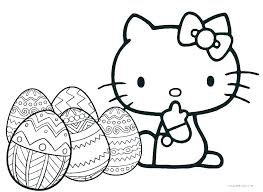 A Coloring Page Of Hello Kitty Hello Kitty Coloring Pages Hello