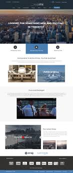 Web Design Gta Modern Upmarket Airline Web Design For A Company By Pb