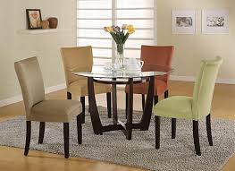 contemporary round dining sets