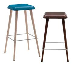 Contemporary Bar Stools Contemporary Bar Stool Ash Daddy Longlegs By Martin Solem