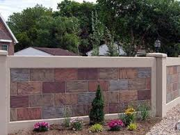 Small Picture New Texture for Precast Concrete Fence Walls with Stacked Stone