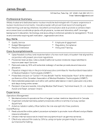 Nuclear Medicine Technologist Resume Examples Resume For Your