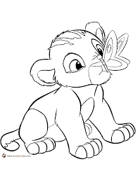 Small Picture Baby Simba Coloring Pages Coloring Pages