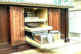 fascinating how to install sliding drawers in kitchen cabinets pull out drawers for kitchen cabinets e
