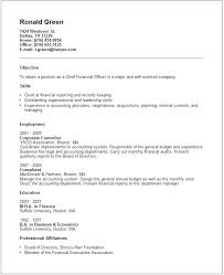 Budget Accountant Sample Resume Extraordinary Finance Resume Vp Examples Samples Socialumco