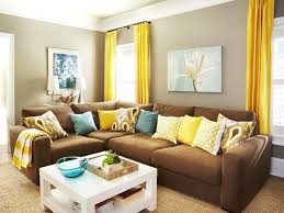 the way to brighten up a room with yellow curtains teal and brown living room decor amazing idea gray imposing ideas yellow