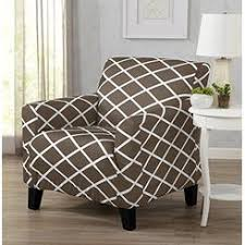 chair covers for home. Great Bay Home Strapless Stretch Printed Slipcover Chair Cover, Stain And Spill Resistant. Tori Covers For