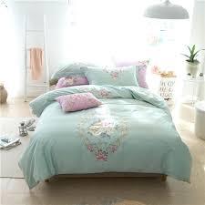modern bedding sets cotton embroidered duvet cover set noble modern bedding set king queen size blue