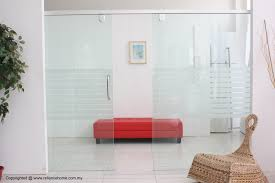 interior sliding glass doors room dividers ideas designs toughened frameless uk interior design es