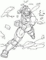 Immagini Da Colorare Iron Man 12