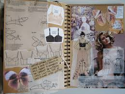 What Fashion Designer Made A Collection For H M Key Inspirational Sketchbook Pages Sketchbook Layout