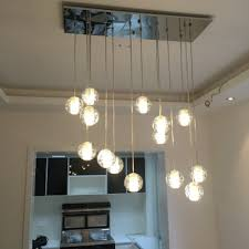 getop modern crystal chandelier lights fixtures magic ball picture on stunning exterior stair lighting fixtures commercial