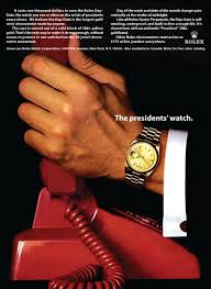 great display of 60s advertising prowess in this rolex great display of 60s advertising prowess in this rolex presidential ad ca