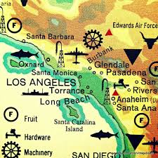 Pin by Jana Caldwell on Hollywood | Los angeles map, Los angeles map print,  Los angeles