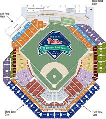 Clearwater Threshers Seating Chart Phillies Map Citizens Bank Map Phillies Seating Map