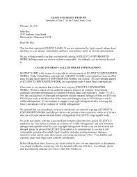 cease and desist letter templates free