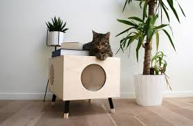 stylish cat furniture. A Modern Cat House They\u0027ll Love And You Won\u0027t Mind Having Stylish Furniture T