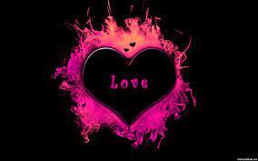 Liebestapete 3d Herz - funkelnde Herz ...