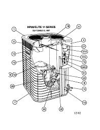 1696 lennox condensing unit parts model hp290481p sears partsdirect 272727 2200