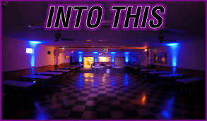 the secret to creating a great ambiance filled space lies in the type of lighting where to place the lighting and using it to enhance your venues already