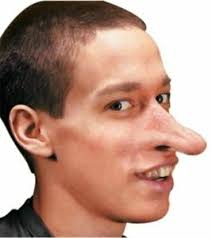Long Nose Reel F X Pinocchio Fairy Tale Storybook Men Costume Fantasy Long Nose Prosthetic