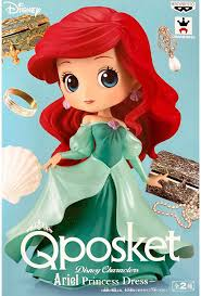 <b>Фигурка Q Posket</b>: Disney Characters – Ariel Princess Dress (14 см ...