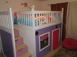 bunk bed with stairs for girls. Ana White Custom Playhouse Bunkbed Diy Projects Castle Bunk Bed Plans Pla Full Size With Stairs For Girls