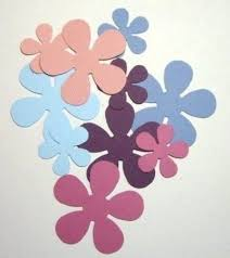 Paper Flower Punches Cut Out Flower Shapes Use Edge Punches On Edges Of Flowers