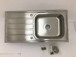 deep stainless steel sink. Single Deep Bowl Leftright Drainer Stainless Steel Quality Kitchen Sink Waste With