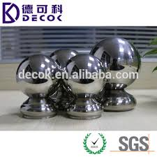 Stainless Steel Decorative Balls Stainless Steel 100100 Handrail Decorative Balls Handrail Ball 63