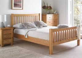 Oak Bedroom Dorset Oak Bed Frame Light Wood Wooden Beds Beds