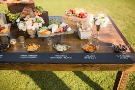 Food and beverage are likely one of your largest areas of expense as an event planner, and it's also one that's the most challenging. Wedding Decor Rustic Farm Table Dining Metallic Accents Exquisite Weddings