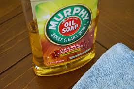 keep your cabinets clean oil soap