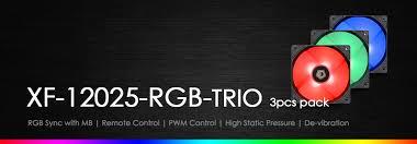 <b>XF</b>-<b>12025</b>-<b>RGB</b>-<b>TRIO</b>