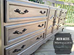 diy metallic furniture. Amazing Diy Furniture Project Using Modern Masters Metallic Paint Image Of For Wood Inspiration And Ideas