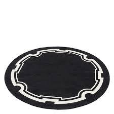 more views palazzo round rug black