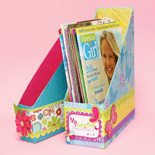 Magazine Holder From Cereal Box Holder Designed By American Girl Crafts 36