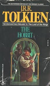 the book cover of the hobbit from the 80s