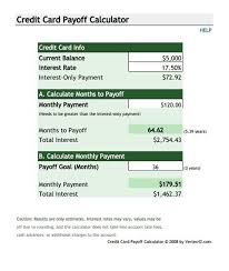 Estimate Credit Card Interest Credit Card Debt Repayment Calculator Paying Off Credit