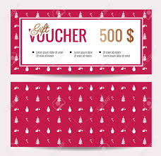 Christmas Gift Coupon Christmas Gift Certificateemplate Pdf Onlineemplates Free