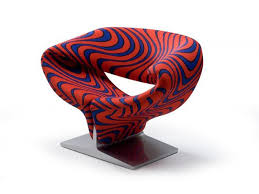 upholstered armchair ribbon chair by artifort