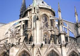 tuesday tidbit  notre dame's flying buttresses  feels like home