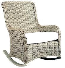 outdoor wicker swivel rocker recliner patio rocking furniture chair rattan cushion replacement canada c