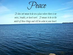 Christian Quotes About Peace