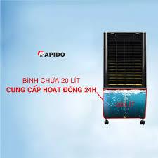 Quạt điều hòa không khí Rapido TURBO 3000D Điều khiển từ xa - Có thể lắp  thêm